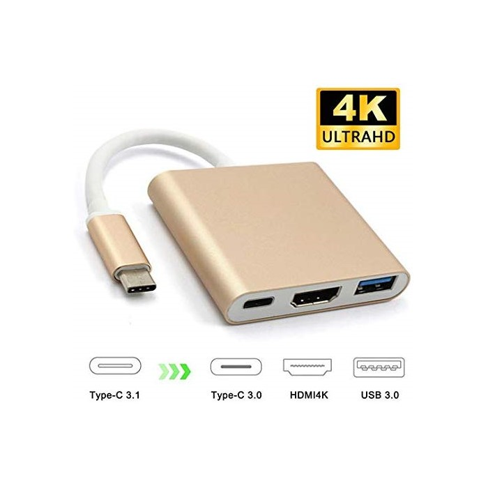 애플어댑터 XVZ USB C to HDMI 4K Multiport Adapter