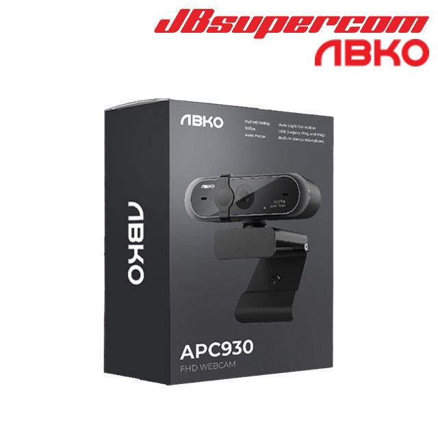 ABKO 앱코 APC930 FHD 웹캠 유튜브 트위치 방송용 카메라 - JBSupercom, 단일색상