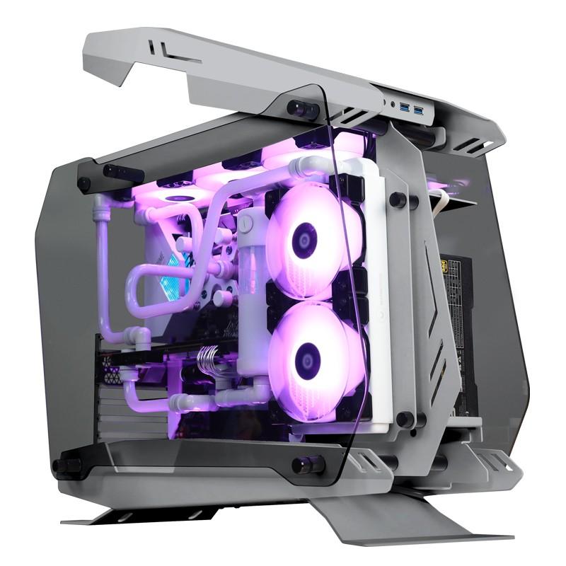JONSBO MOD4 ATX 컴퓨터 케이스, 화이트
