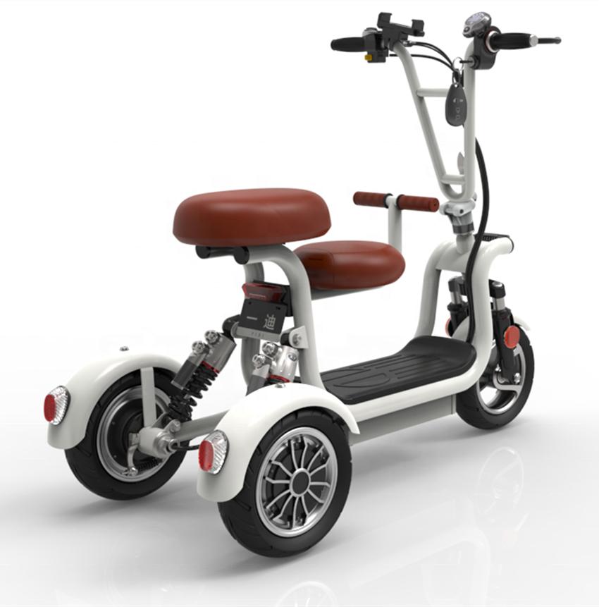 YIDI 이디CC3 전동스쿠터 60km 400W 삼륜 유아동반, 1개, 배터리, 충전기, 모터, 빈 프레임없는 두두 알몸 자동차 + 48V