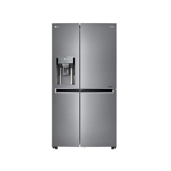 [신세계TV쇼핑][LG](사은품증정) DIOS 얼음정수기냉장고 J812S35 양문형 804L (사은품증정), 단일상품