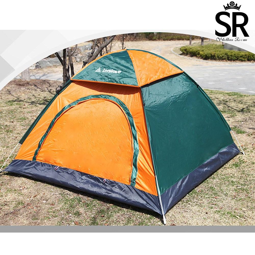 스텔라룸 캠핑 팝업 원터치 방수 텐트 5 ~ 6인용
