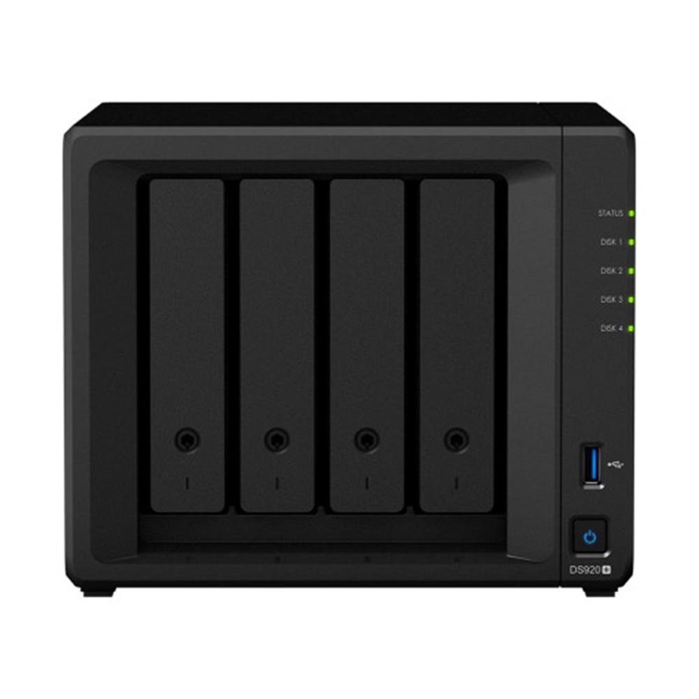 시놀로지 정품 DS920+(하드 미포함) NAS 나스 판매점, DS920+(HDD미포함)