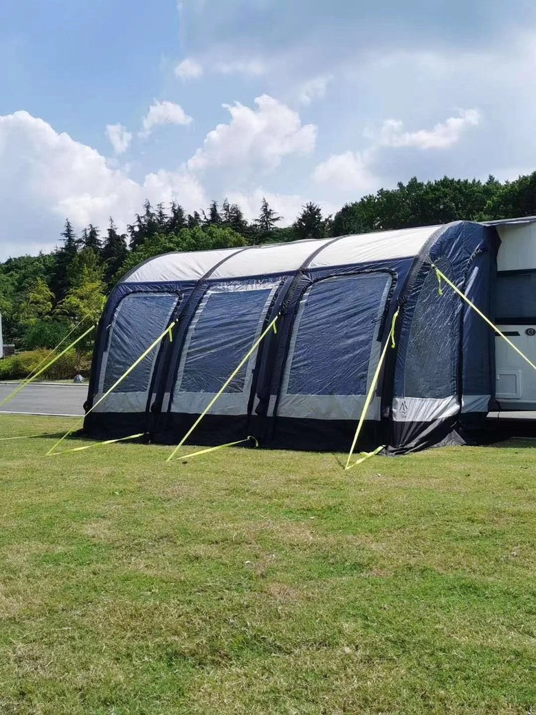 캠핑카 도킹텐트 SUV 차박 텐트 대형 에어빔텐트, 길이 3.9m x 폭 2.5m x 높이2.6-2.8m