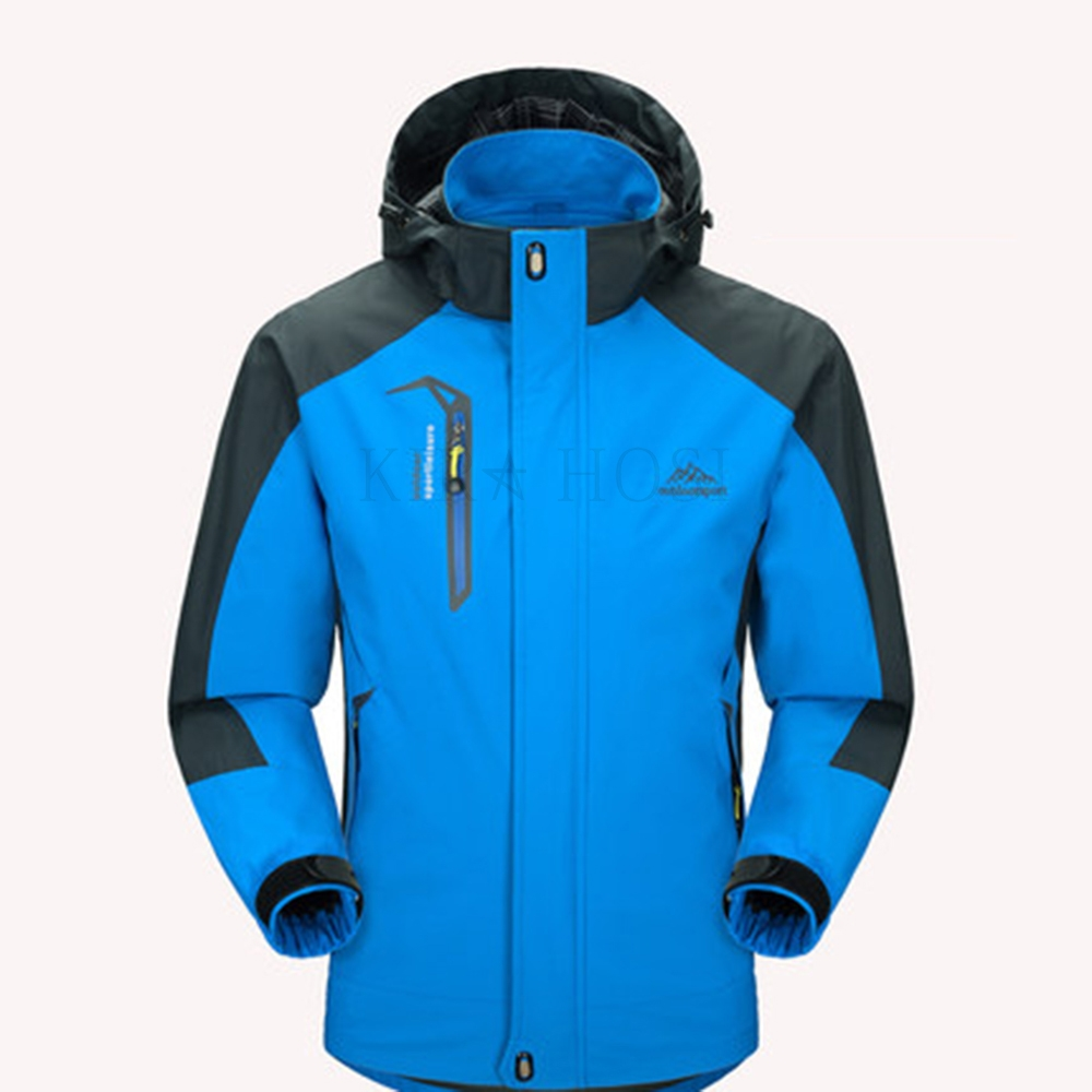 kirahosi 남성 등산복 상의 자켓 가을 겨울 아웃도어 점퍼 캐주얼 Q 12 +덧신 증정 Rdrvg69