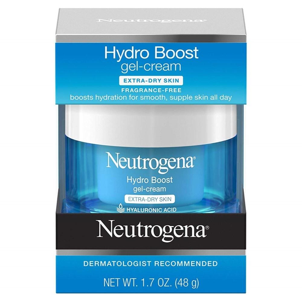 Neutrogena Hydro Boost Gel Cream Extra Dry Skin 뉴트로지나 하이드로 부스트 젤 크림 1.7oz(48g), 1개