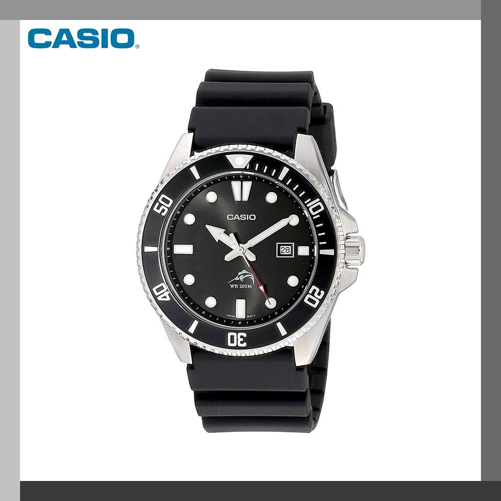 카시오 카시오(CASIO) 아날로그 다이버 시계 MDV-106-1AV 블랙 남성