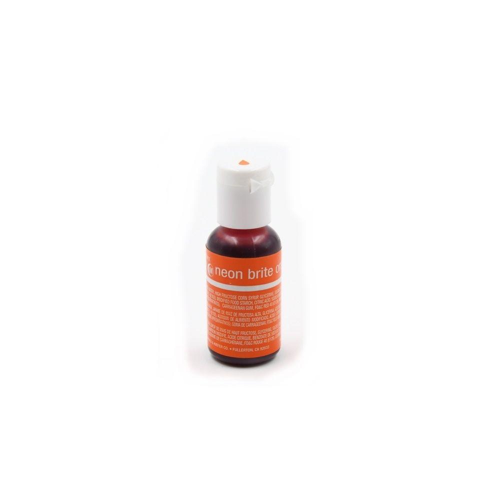 [ 제과색소 베이커리색소 ] 20g 식용 색소 30종 셰프마스터 네온 브라이트 오렌지(W12715F), 오버레이 조지아 피치(20g)