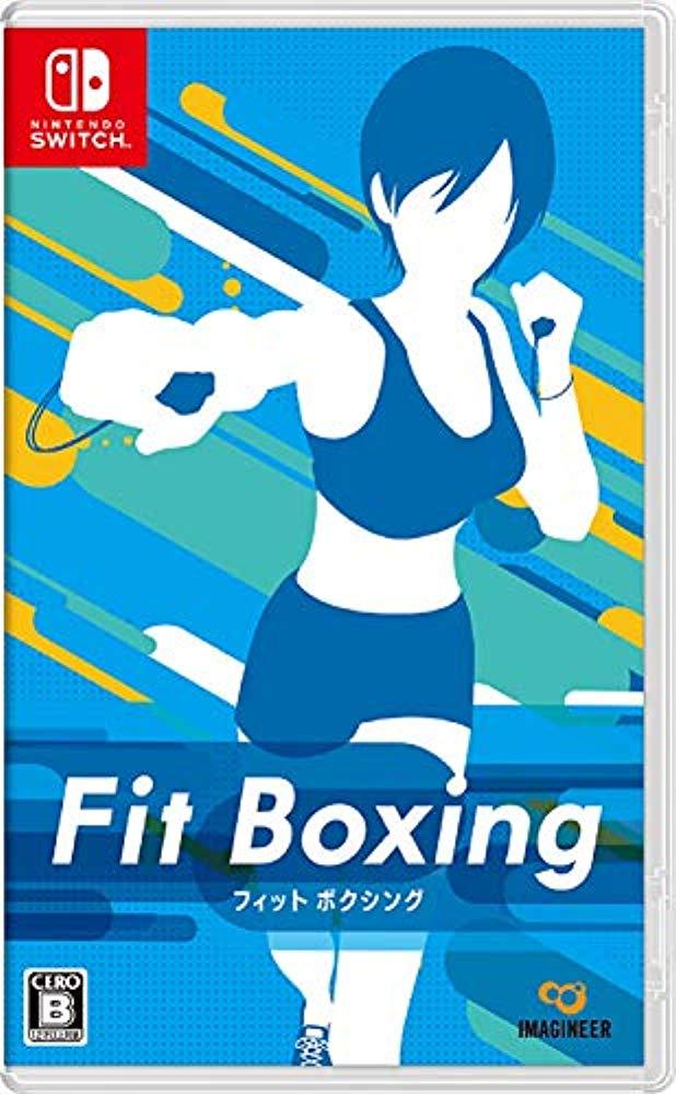 닌텐도 스위치 피트니스 복싱 Fit Boxing, 소프트 단품(특전 없음)