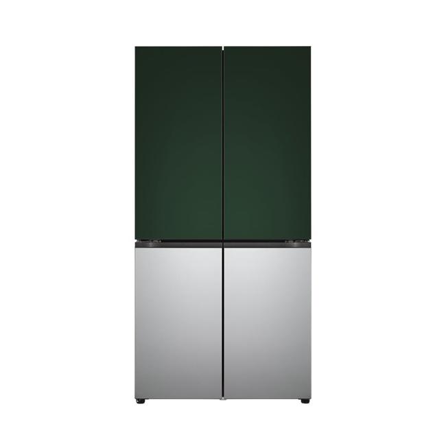 LG전자 M871AAA041 오브제컬렉션 조합형 냉장고 1등급 870리터 도어포함, 네이처(메탈) 블랙/그레이/화이트 (POP 5454401890)