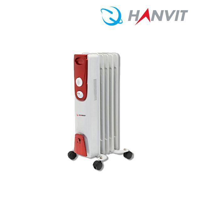 5핀 동파방지욕실온풍기 HV-500 오일형전기라디에이터 전기방열기 화장실동파방지, 단일옵션