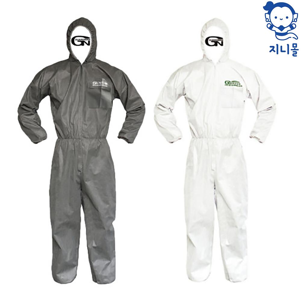 지니몰 일회용작업복 보호복 방진복 방문자가운 실험가운, G-1 원피스보호복 2XL