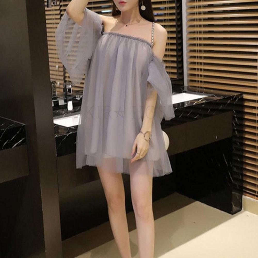 kirahosi 여자 여름 섹시 클럽 슬림 패션 원피스 2020 542호+덧신증정 BMql3jj3