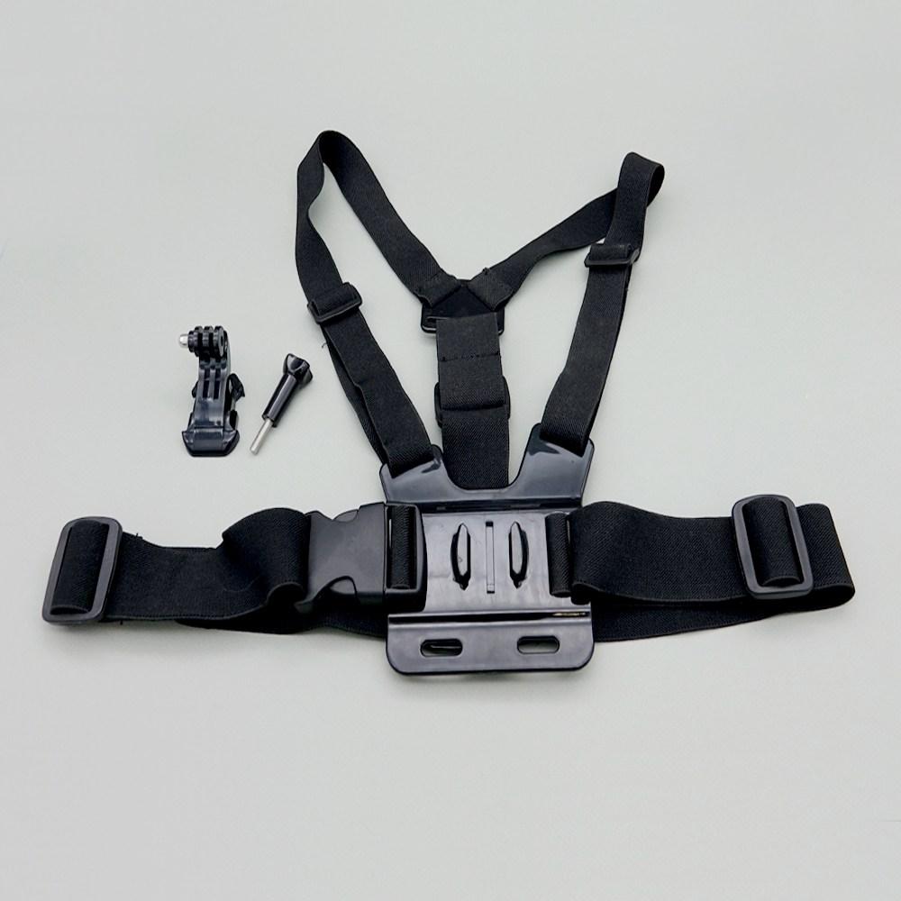 달왕복선 고프로 7 6 5 세션 4 3 체스트 마운트 가슴마운트 몸통마운트, 검정