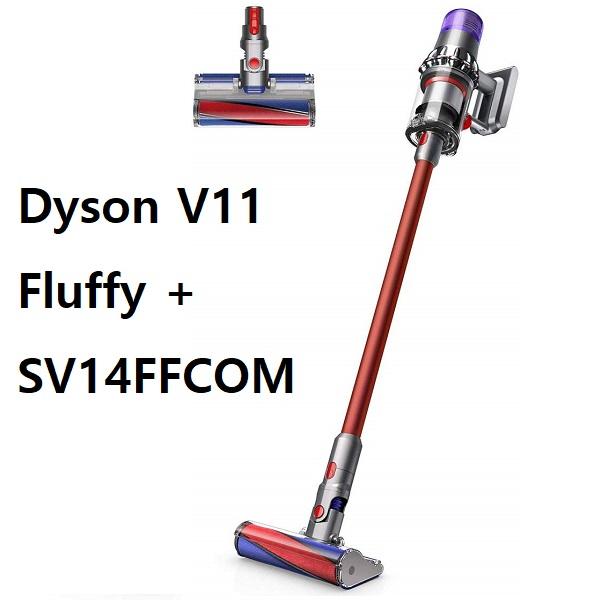 다이슨 Dyson 2020년 V11 고급라인 Cyclone 최신형 플러피플러스앱솔루트 무선진공청소기 신품 정품 핸디청소기, Dyson V11 Fluffy + SV14 FF COM