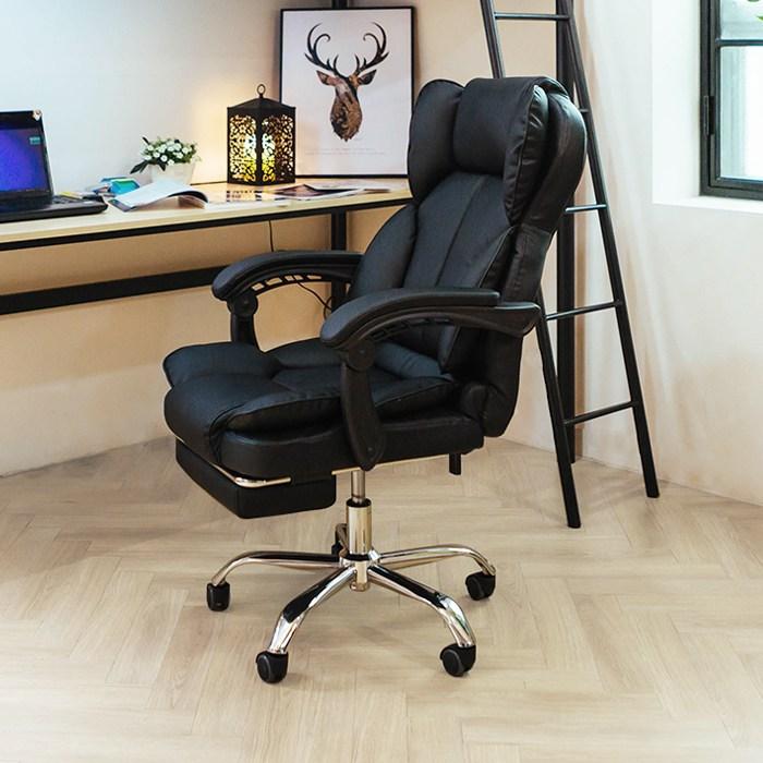 일루일루 PC방 BJ 게이밍 타이탄 의자 모음 학생의자/사무용의자, 미니 타이탄 로얄체어 블랙