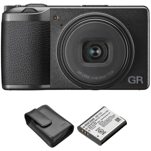 Ricoh Ricoh GR III Digital Camera with Case and Battery Kit, 상세내용참조