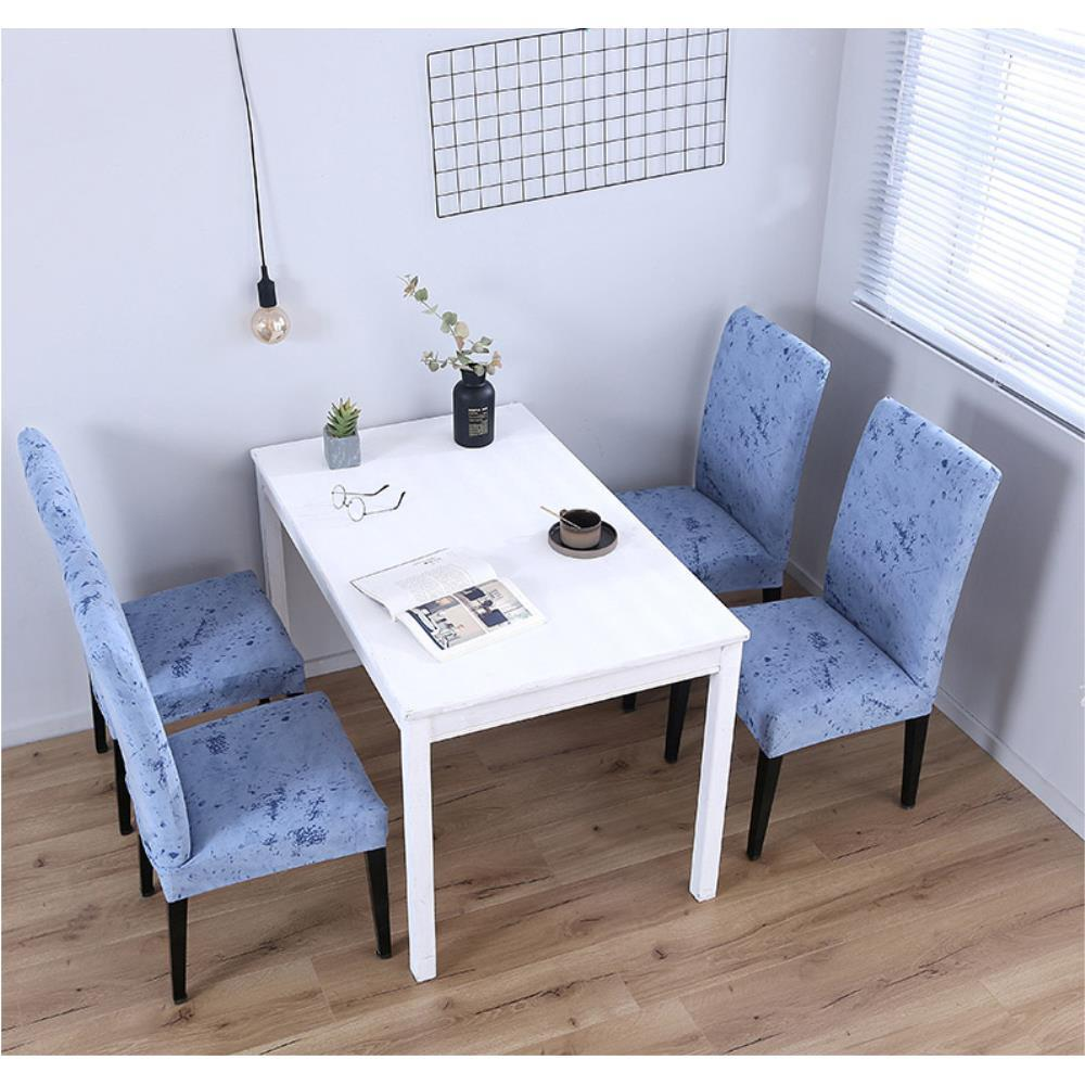 식탁의자 나무의자 전체 커버 천 재활용 식탁인테리어, 16백일홍