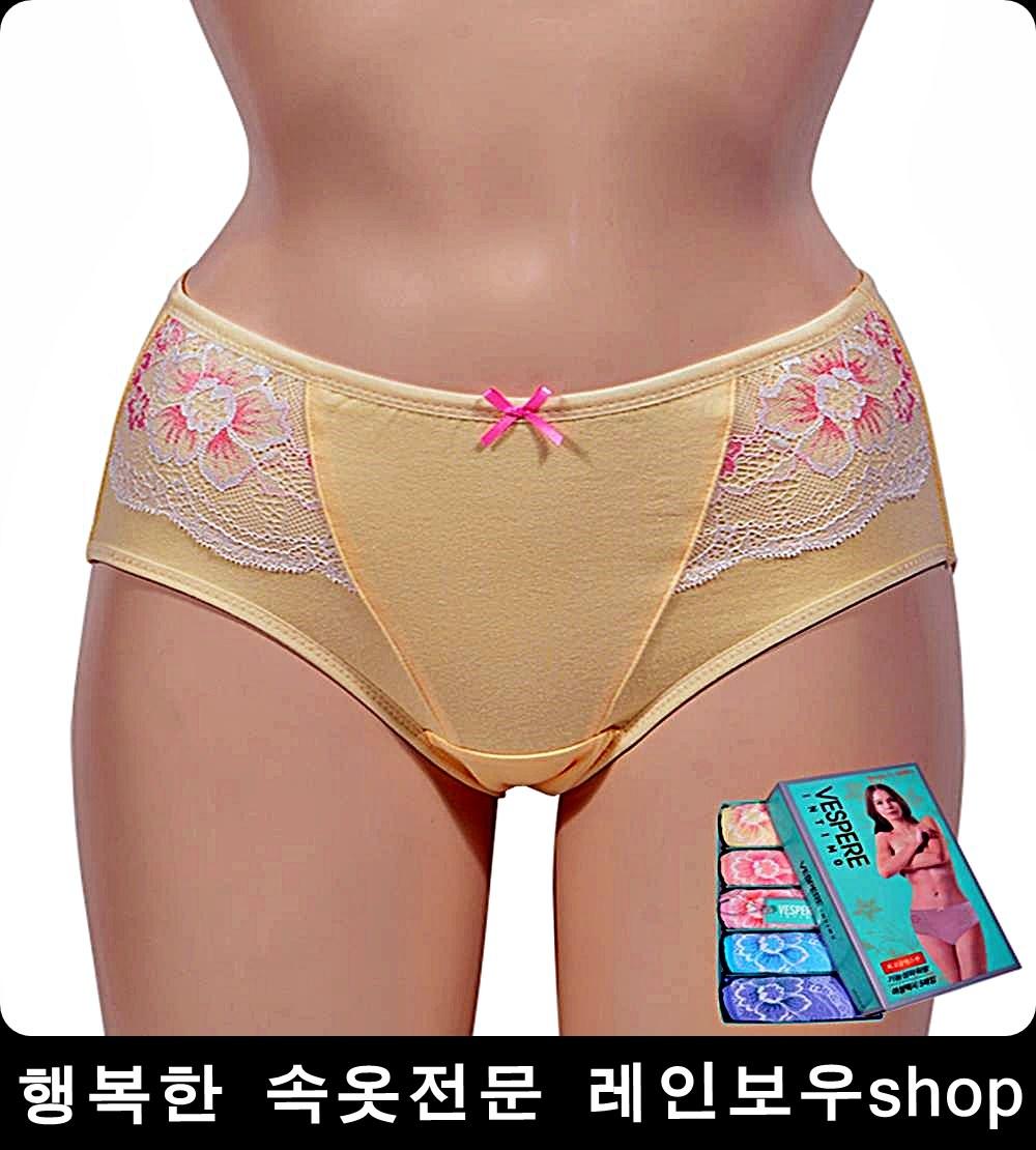 친정엄마선물 인견 5P 105여성팬티 순면팬티 속옷추천