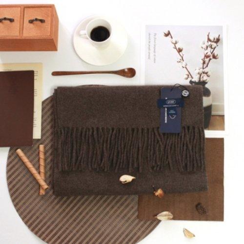 [텐바이텐] [GOBI]고비 캐시미어 머플러 160x30cm 브라운 (캐시미어 100%)