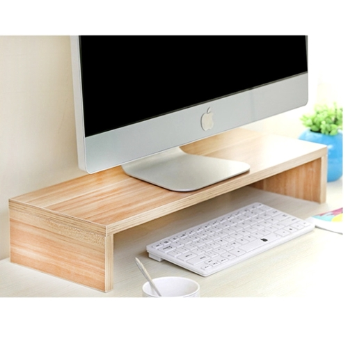 컴퓨터모니터 받침대 다이소 선반 이케아 거치대 원목 데스크 책상 정리 경량, 우드