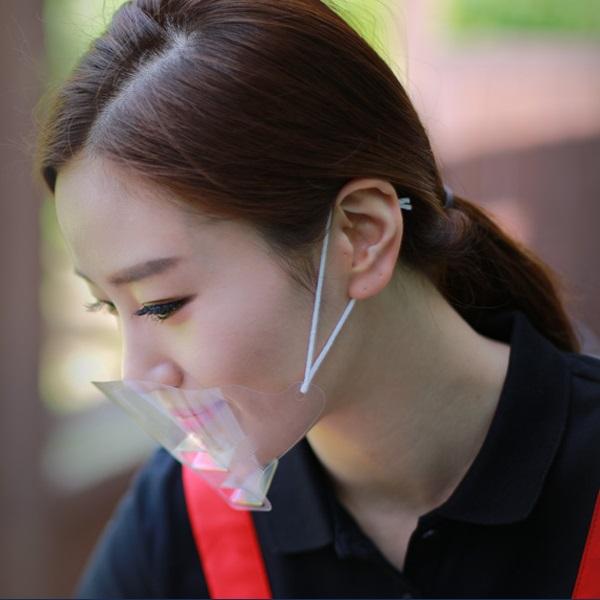 원데이 투명 위생마스크 30매, 1통, 30매입