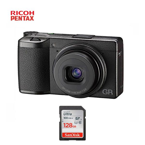 리코 GR III 컴팩트카메라 + SDXC128GB (GR3공식정품), 단품