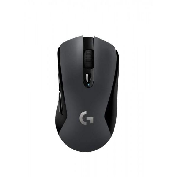 로지텍 G603 광속 무선 게임 마우스 무선 블루투스의 Unifying USB 수신기는 2.4GHz 연결 HERO 12000 DPI 센서 프, 단일상품, 단일상품
