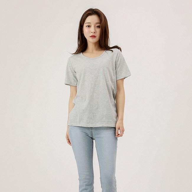 비지트인뉴욕 라운드 넥 티셔츠 VU4ST90