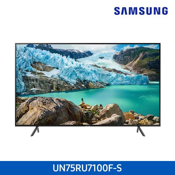 라온하우스 [삼성전자] 프리미엄 75인치 스탠드형 벽걸이형 텔레비전 tv/티브이/4K UHD TV/LED TV/기사무료설치, 스탠드형 607159, 기사무료설치