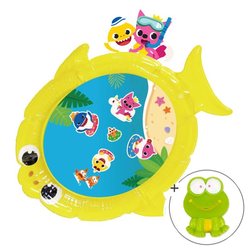 리틀히어로 워터매트 외 아기 장난감, 핑크퐁워터매트-아기상어+wtoy