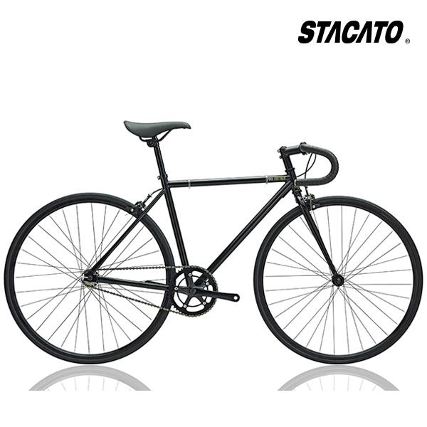 스타카토 2019 픽시 자전거 미스티크 700C, 스타카토 미스티크(480) 블랙