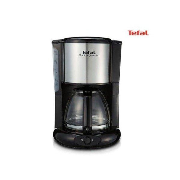 [테팔] 커피 메이커 CM-3618 [소비전력 1 000W/ 용량 1.25리터 (10~12, 상세 설명 참조, 상세 설명 참조