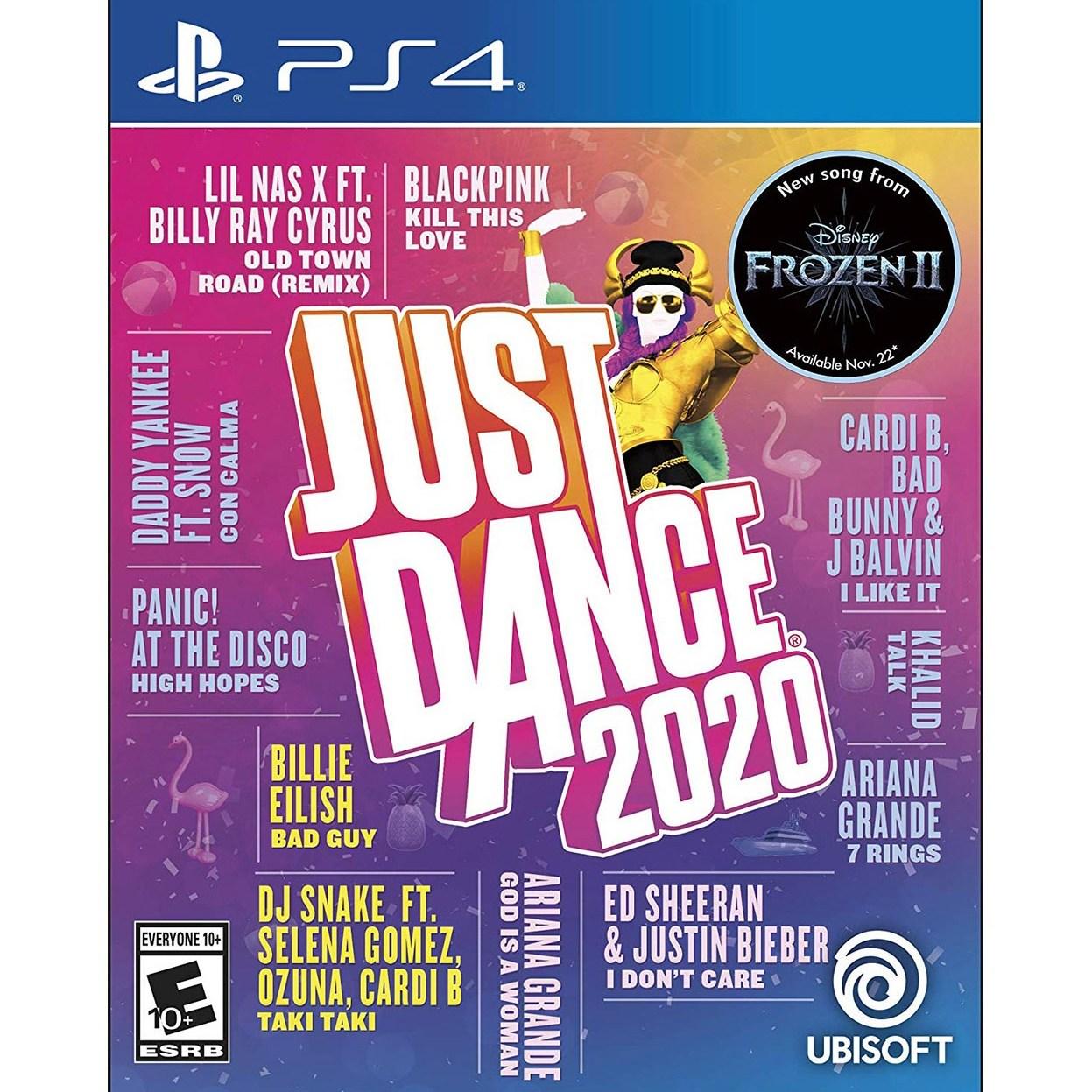 플레이스테이션 4 PS4 저스트 댄스 2020_Just Dance 2020, 단일품목