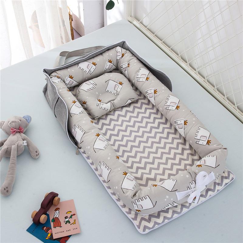 뉴타임즈10 침대식 침대에서 휴대용 아기 침대 아기가 운반할 수 있는 신생아의 폴딩 침대 잠자리를 방지하고 바이오닉. 잠자리에 든다. bb QH27 A28, 10 XX그레이
