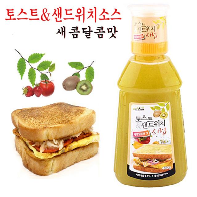 서산애 토스트 샌드위치 소스 새콤달콤맛, 1개