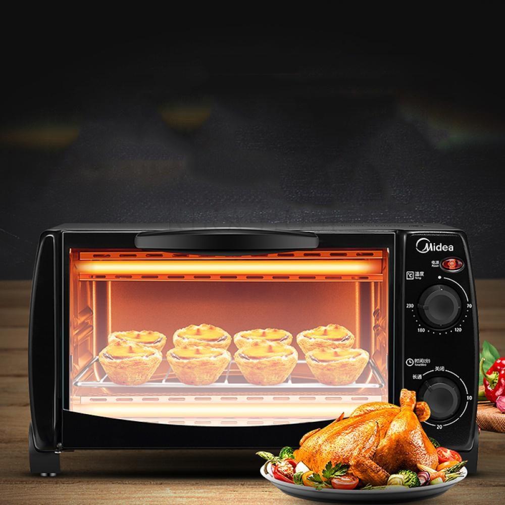 kirahosi 디지털 오븐 베이킹 자가용 컴팩트 바베큐 전기 미니 오븐 34호 BW4myeh, 블랙