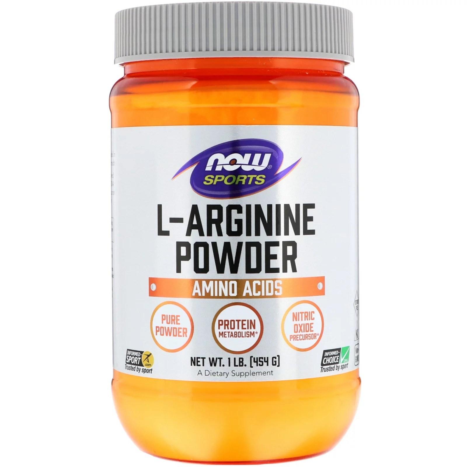 나우푸드 엘아르기닌 L-아르기닌 파우더 454g 건강기능식품, 1개