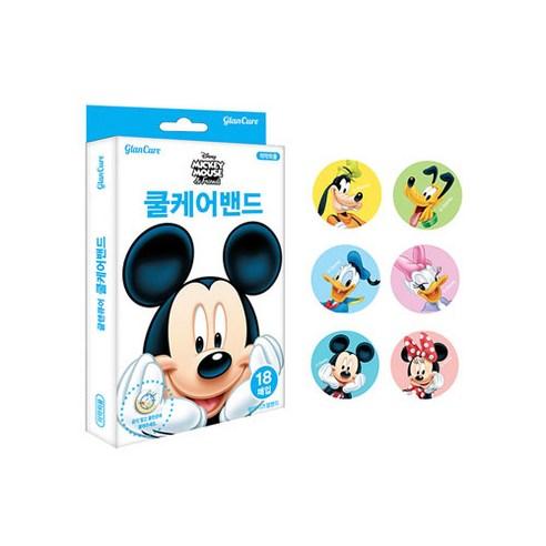 디즈니 미키마우스 쿨케어밴드 18매입, 20개 (POP 5540955102)