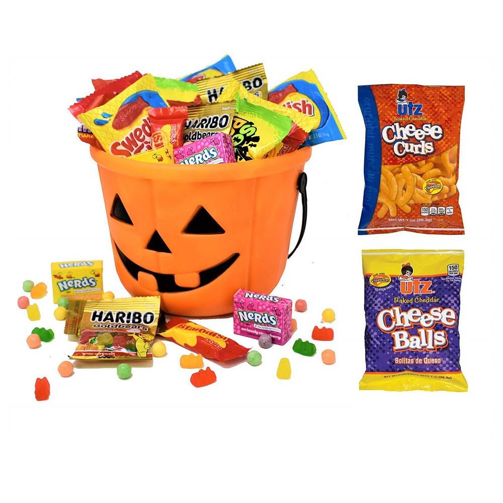 Blue Ribbon Halloween Care Package Gift Basket 블루 리본 할로윈 케어 패키지 선물 세트 1.9LB, 과자세트, 1개