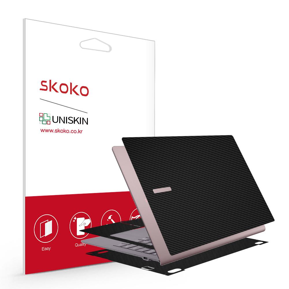 스코코 삼성 갤럭시북S SM-W767N 유니스킨 전신 외부보호필름 3종, 갤럭시 북S SM-W767N