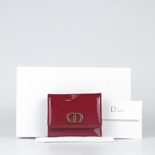 디올 체리 페이던트 반지갑 K2717CD