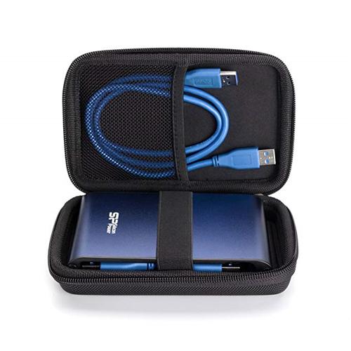 삼성전자 삼성 포터블 SSD T5 2.5인치 외장하드 지퍼형 하드케이스, 실버 (POP 2106827679)