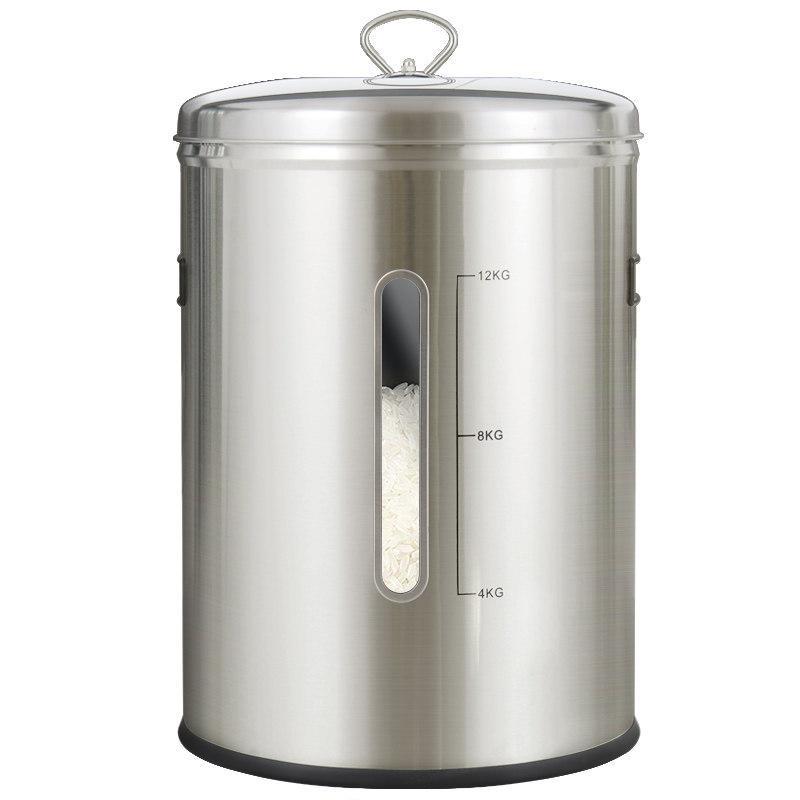 코스토프 304 스텐쌀통 벌레안생기는 쌀보관통 15kg, 스텐