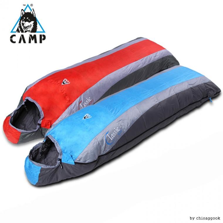 캠프 CAMP 여행 초경량 오리털 침낭 듀엣사용, 블루