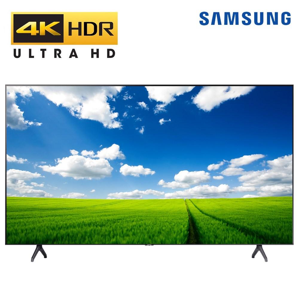 삼성전자 50인치 크리스탈 UHD 스마트 비지니스 LED TV 스탠드 벽걸이설치, 방문설치, 스탠드형