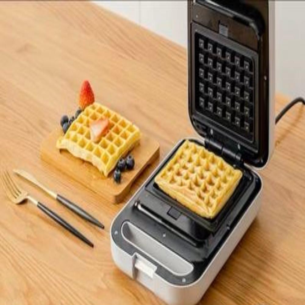 와플머신 전기와플기계 메이커 홈 카페 간식 미니 기기, 와플+샌드위치 그린