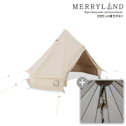 Nordisk 아스가르드 12.6 텐트, 6인용, 텐트+벽 확장 세트
