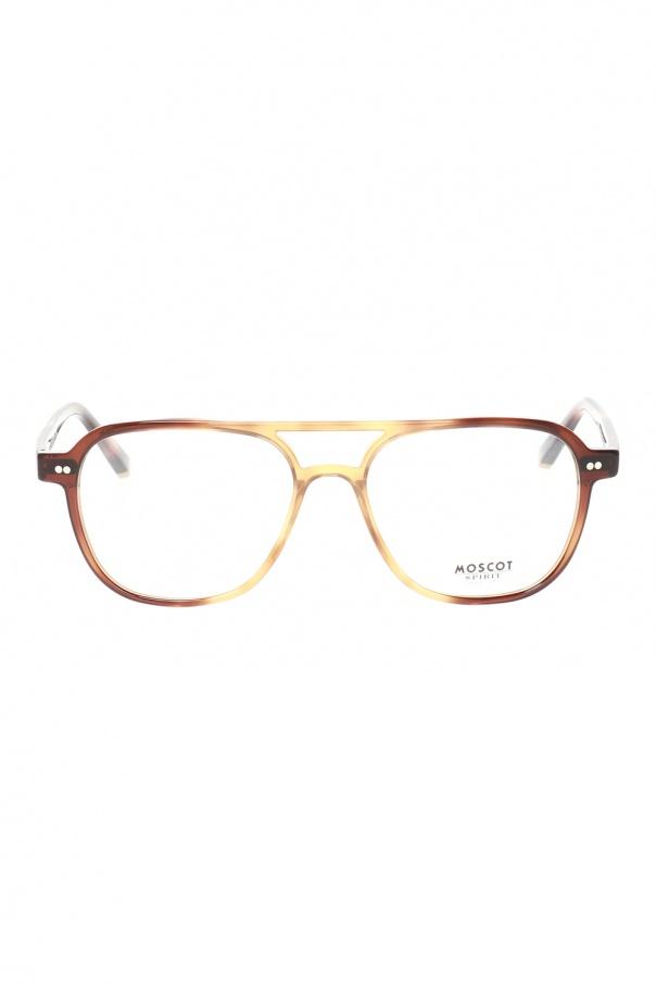 Moscot 'Bjorn' eyeglasses 로고 BJORN 0-TOBACCO 150불 이상 주문시 부가세 별도
