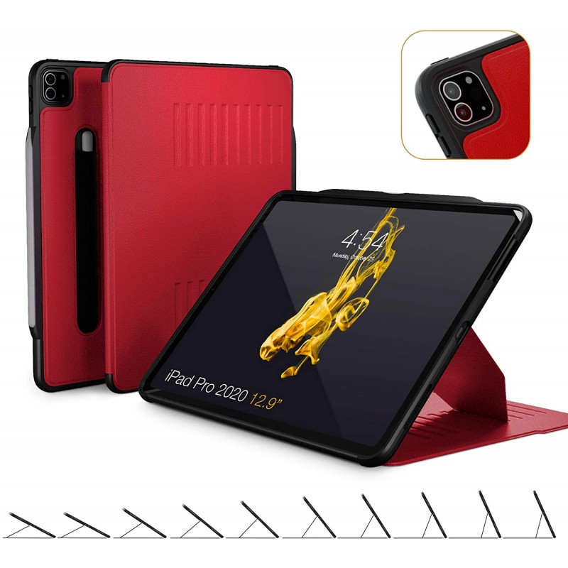 ZUGU CASE (새 모델) 2020 iPad Pro 12.9 형용 Alpha 케이스-울트라 슬림 보호 케이스-무선 Apple Pencil 충전-편리한 마그네, 단일옵션, 단일옵션
